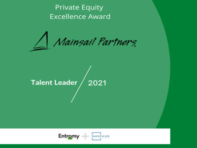 Mainsail Partners Nominated as a PE Leader in Talent